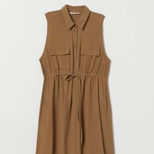 NWOT Maternity Utility Dress from H&M (S)